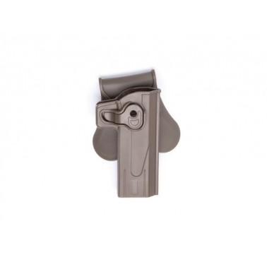 holster rigide hi capa 5.1 FDE strike systeme 18574