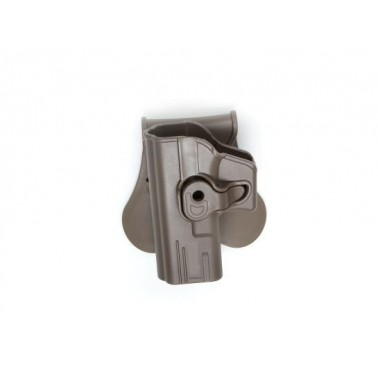 holster rigide gaucher pour glock FDE strike systeme 18428
