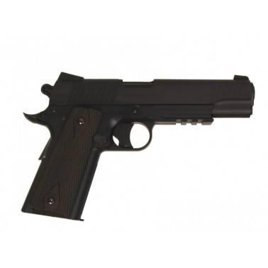 colt 1911 rail gun noir culasse fixe 180314