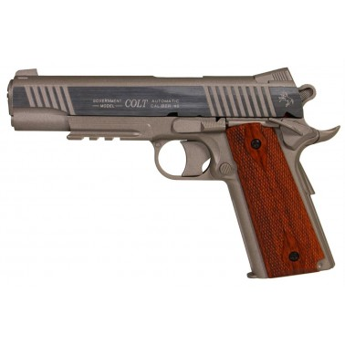 colt 1911 m45a1 rail gun stainless culasse fixe 180315