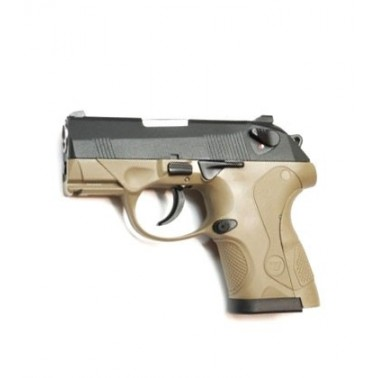 px4 compact bulldog WE noir et tan (talon tan ou rose)