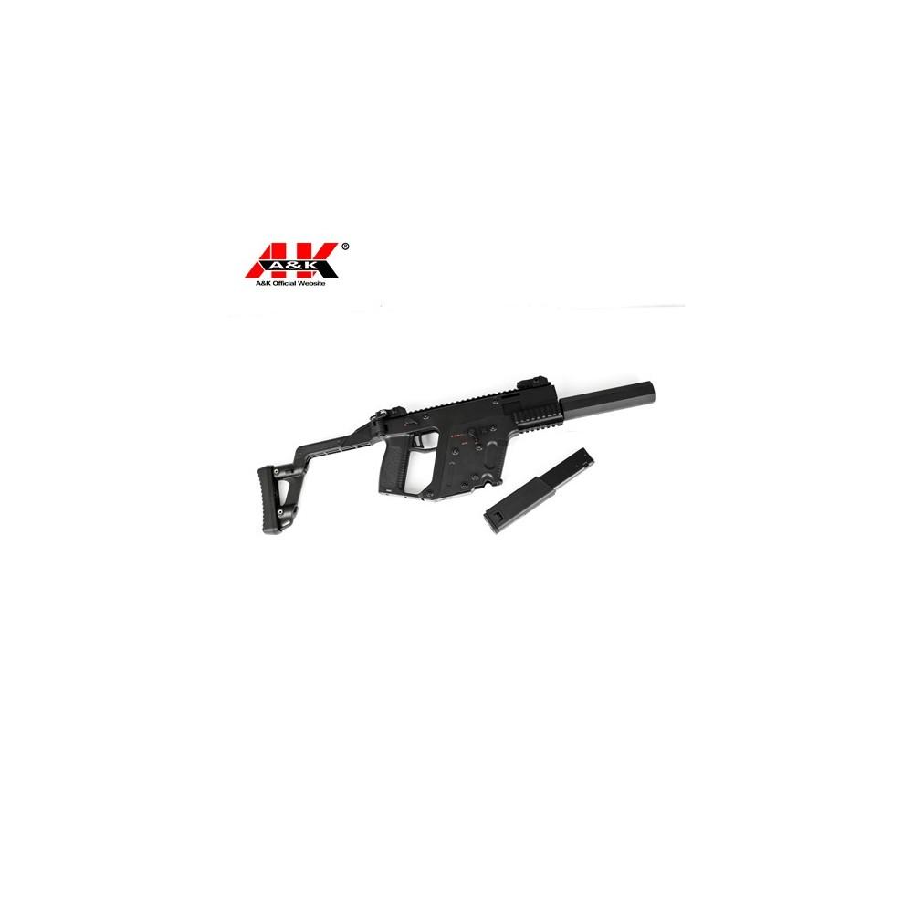 a&k mod1  aeg type kriss vector noir + silencieux