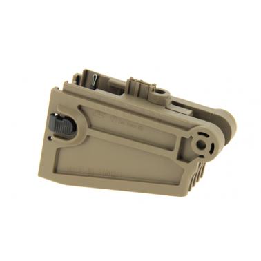 adaptateur chargeur m4 magwell m4 pour cz bren 805 tan 18631