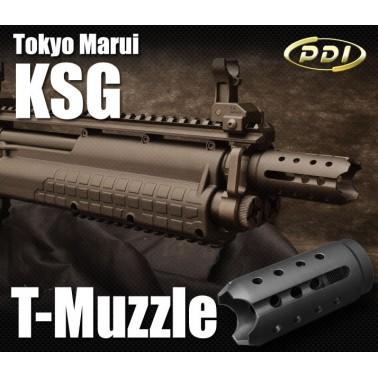 cache flamme T-muzzle brake pdi pour KSG marui