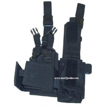 Holster Jambe mp5 m11 mp7 ajustable 15382