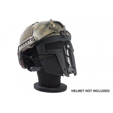 masque TMC spartan grillagé noir