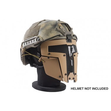 masque TMC spartan grillagé tan