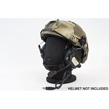 casque pour helmet earmor ear-muff noir + micro