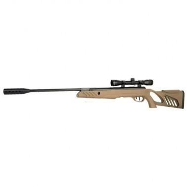 carabine à plomb tac1 20j 4.5mm tan+ lunette 4x32