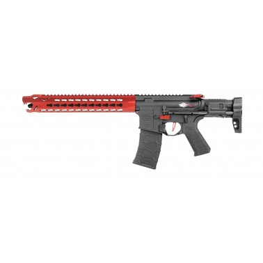 M4 avalon LEOPARD carbine rouge livre en mallette
