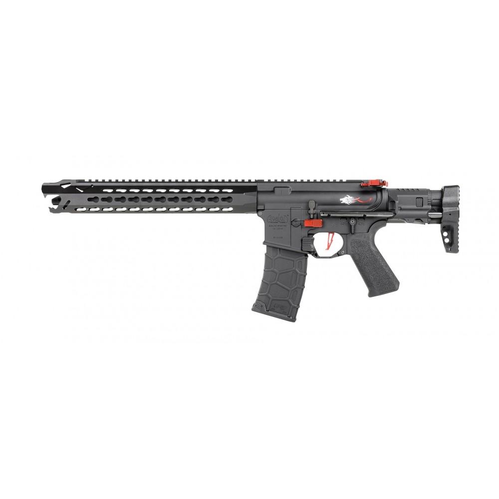 M4 avalon LEOPARD carbine rouge livre en mallette