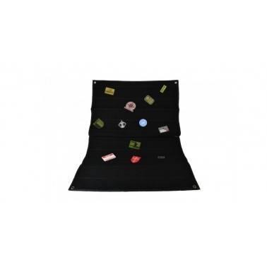 panneau velcro 70cm x 100cm noir