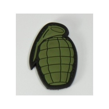 patch pvc forme grenade