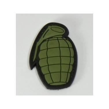 patch pvc forme grenade