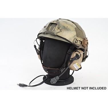 casque pour helmet earmor ear-muff de tan + micro