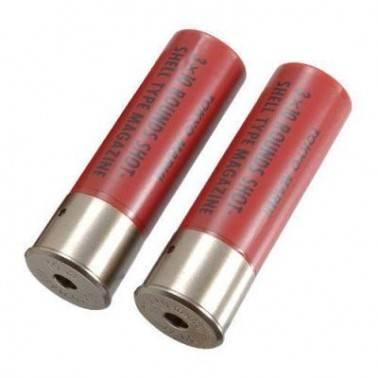 lot de 2 douilles shot shell tokyo marui rouge M3 spas 12 m870 breacher