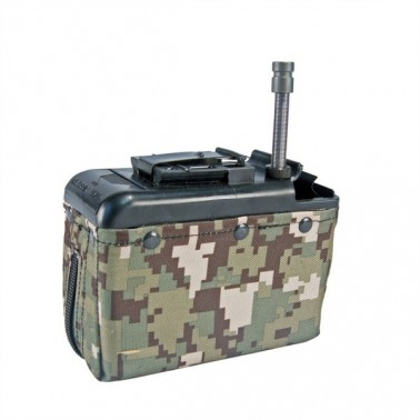 chargeur ammo box 1200 bb's lmg et m249 classic army digital aor2