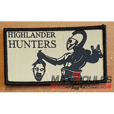 patch highlander hunter tan 48x88mm