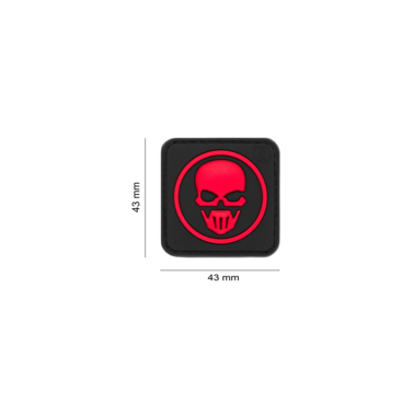 patchc velcro ghost recon noir et rouge