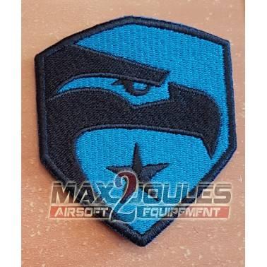 patch velcro gijoe bleu et noir