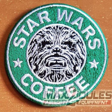 patch velcro star wars coffee chewbacca