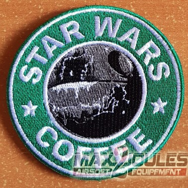patch velcro star wars coffee etoile noire