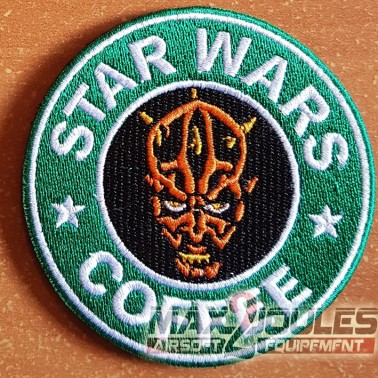 patch velcro star wars coffee dark maul