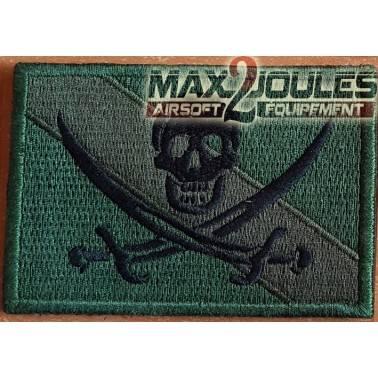patch velcro drapeau pirate od