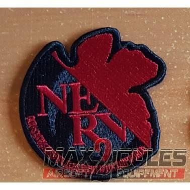 patch velcro one piece NE RV noir et rouge