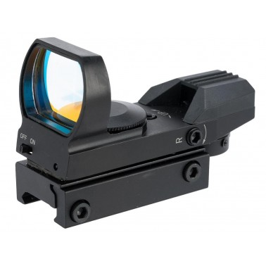 viseur reflexe multi reticules hd105 noir red dot
