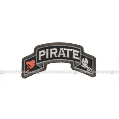 patch velcro msm 1st company pirate color swat