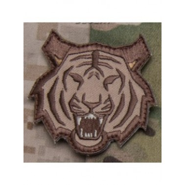msm patch velcro tete de tigre sable