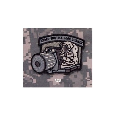 patch velcro msm space shuttle door gunner acu