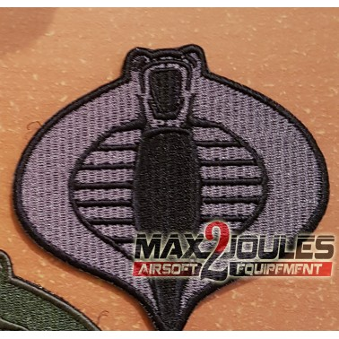 patch velcro gijoe cobra noir