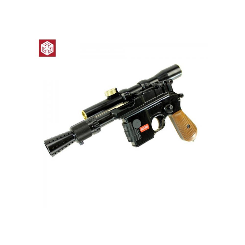 blaster ian solo star wars gbb gaz 1j aw custom