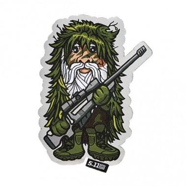 patch velcro 5.11 sniper gnome 511-81069-999