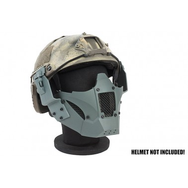masque grillage TMC jay fast vert gris