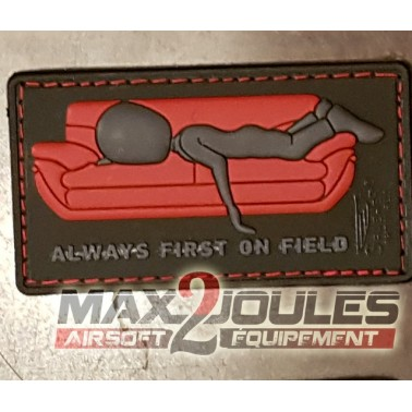 patch pvc velcro always first on field