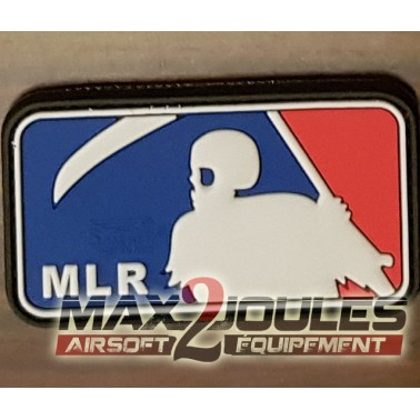 patch pvc velcro mlr couleur bleu blanc rouge