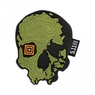 patch pvc 5.11 topo skull od 511-81080-861