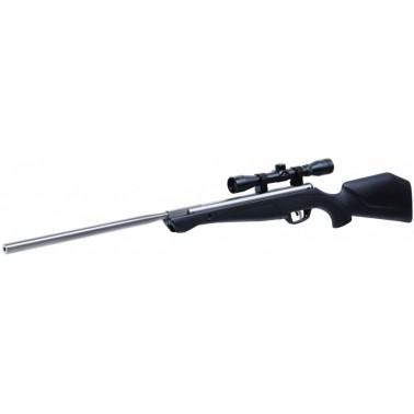 pack carabine 20j bi ton silverfox nitro piston crosman + lunette