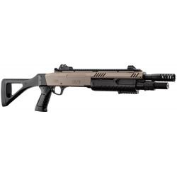 fusil à pompe FABARM STF/12-11'' 3bb's tan 0,8j - BO MANUFACTURE