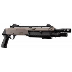 fusil à pompe FABARM STF/12-11'' 3bb's tan sans crosse 0,8j - BO MANUFACTURE