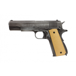 1911 molon labe AW custom grip tan NE2001