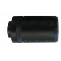 silencieux court 60x32mm 14mm neg 605233