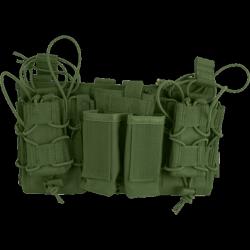 porte chargeurs modulaire OD (4 pa + 3 en 5.56) viper tactical