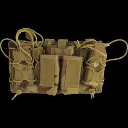 porte chargeurs modulaire multicam (4 pa + 3 en 5.56) viper tactical