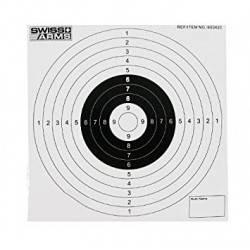 lot 50 cibles 14mmx14mm carton swiss arms 603420