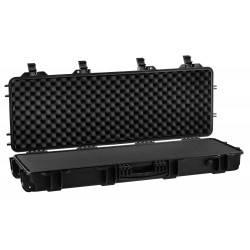 mallette waterproof noire 103x33x15cm mousse predecoupee nuprol