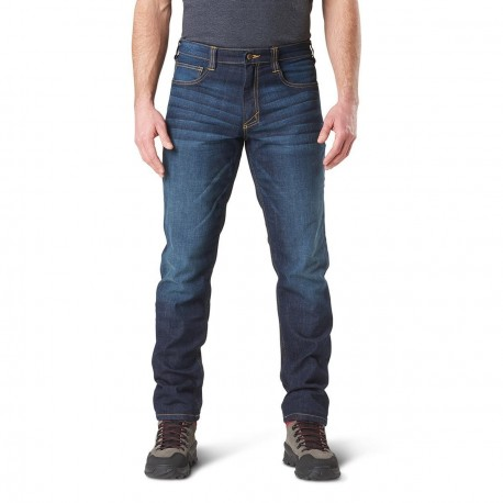 jean 5.11 slim defender flex dark wash indigo 511-74465